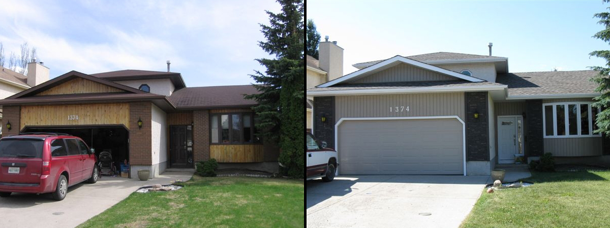 Regina Window and Exterior Before and After Windows Saskatchewan