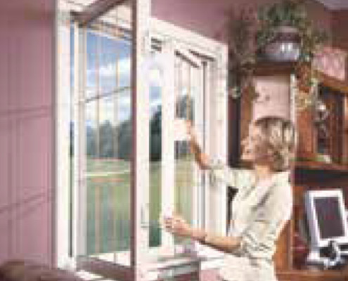 Regina Window & Exterior Double Slider Tilt and Turn Window