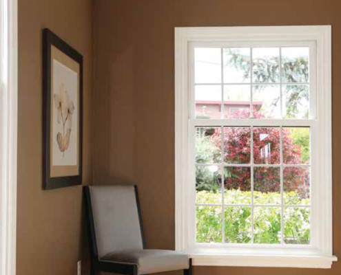 Regina Window & Exterior Single Hung Window